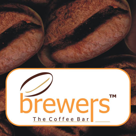 Brewers The Coffee Bar with Dark Coffee